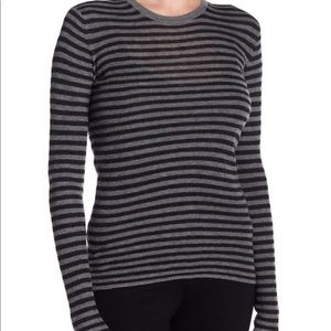 Vince Women's Striped Cashmere Sweater